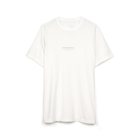 maharishi Hemp Militype T-Shirt White