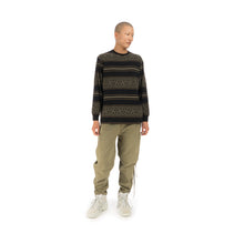 Load image into Gallery viewer, maharishi | Striped L/S T-Shirt Woodland - Concrete