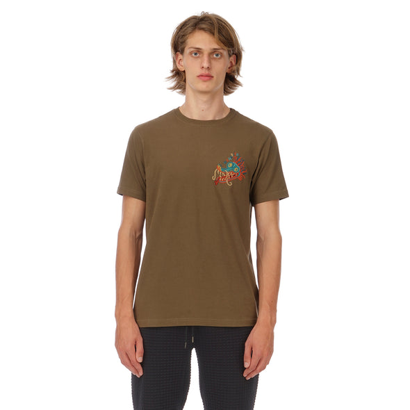 maharishi | Liberty Dragon T-Shirt Maha Olive