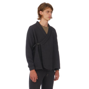 maharishi | Air Knit Polartec Reversible Kimono Black