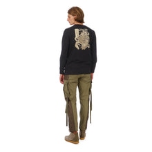 Load image into Gallery viewer, maharishi | Dragon Journey L/S T-Shirt Black