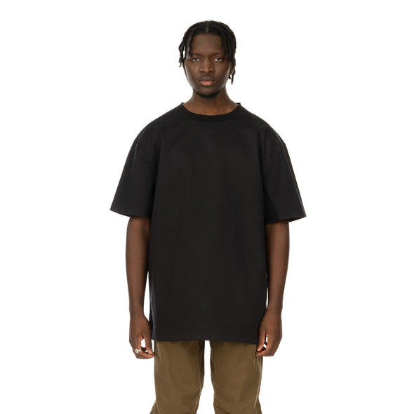 maharishi | Oversized Woven T-Shirt Black - Concrete