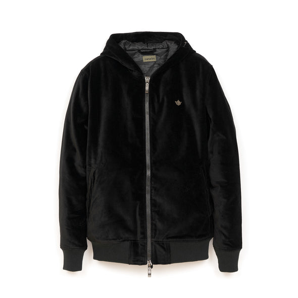 Maharishi Official Hoody 'Temple Rivet' Black