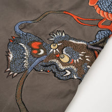 Afbeelding in Gallery-weergave laden, Maharishi Temple Ball Snopants Claw Dragon Embroidery Charcoal