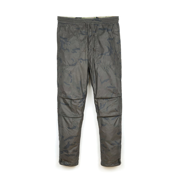 maharishi | Reversible Camo Tech Track Pants Charcoal Coated - Concrete