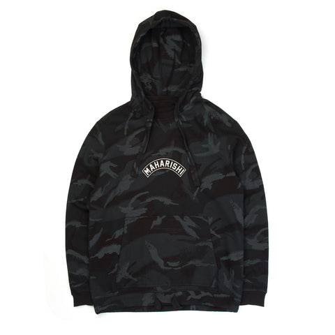 maharishi Camo Niseko Hooded Sweat Night Camouflage