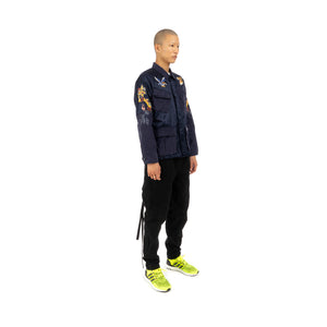 NEIGHBORHOOD SOUVENIR / CR-JKT Woven Jacket Navy