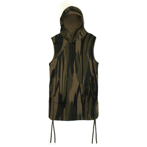 maharishi | Reversible Camo Hooded Gilet Jungle Camouflage - Concrete