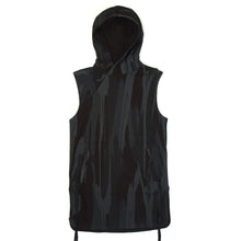 Load image into Gallery viewer, maharishi Reversible Camo Hooded Gilet Night Camouflage