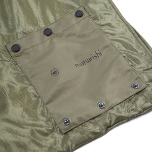 maharishi | Rollaway Shopping Bag Olive - Concrete