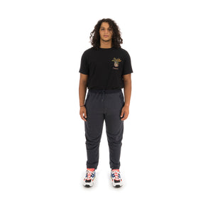 maharishi | Tech Flux Trackpants Navy Marl - Concrete
