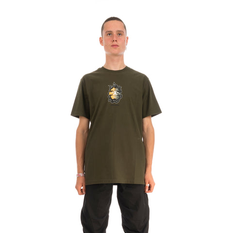 maharishi Two Way Face T-Shirt Mil Olive