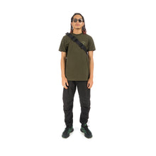 Load image into Gallery viewer, maharishi x Hyperdub Travel Waist Bag Black