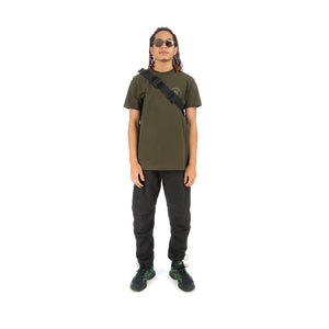 maharishi x Hyperdub Travel Waist Bag Black