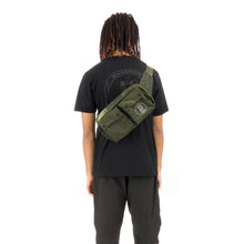 Load image into Gallery viewer, maharishi x Hyperdub Travel Waist Bag Olive