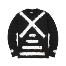 Load image into Gallery viewer, NEWAMS Painted Mill Sweater Black