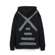 將圖像加載到畫廊查看器中NEWAMS | Painted Mill Oversized Hoody Black - Concrete