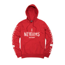 Load image into Gallery viewer, NEWAMS Stamp Hoody Red - Concrete