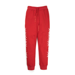 NEWAMS Mill Sweatpants Red