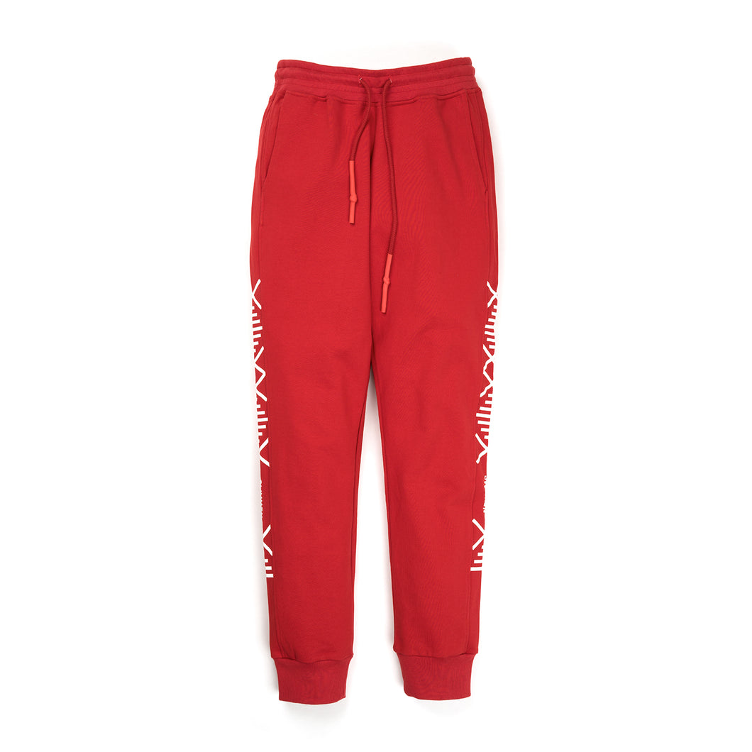 NEWAMS Mill Sweatpants Red - Concrete