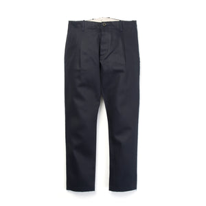 nine:inthe:morning 'Fold' Pleats Chino Blue/Navy