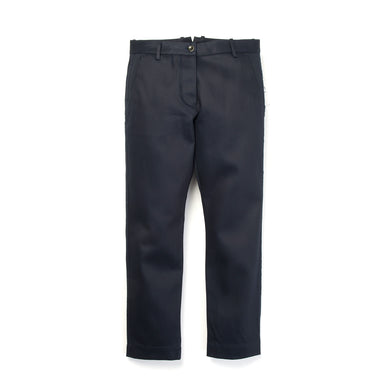 nine:inthe:morning W 'Giusy' Raw Cut Chino Blue/Navy - Concrete