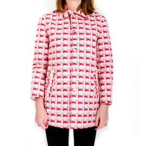 Peter Jensen | W 'Peter' Coat Pink Bow - Concrete