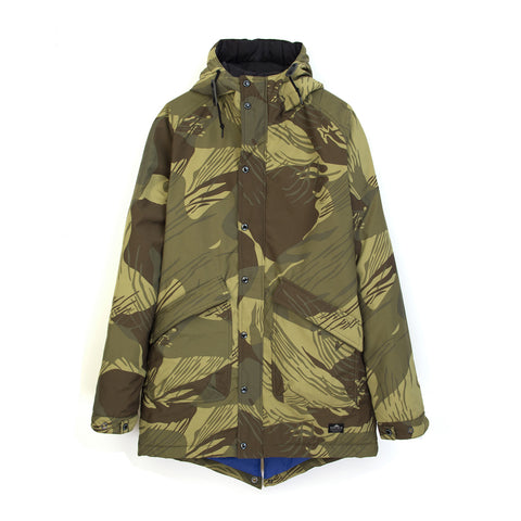 Penfield Mens Kingman Camo Jacket Olive