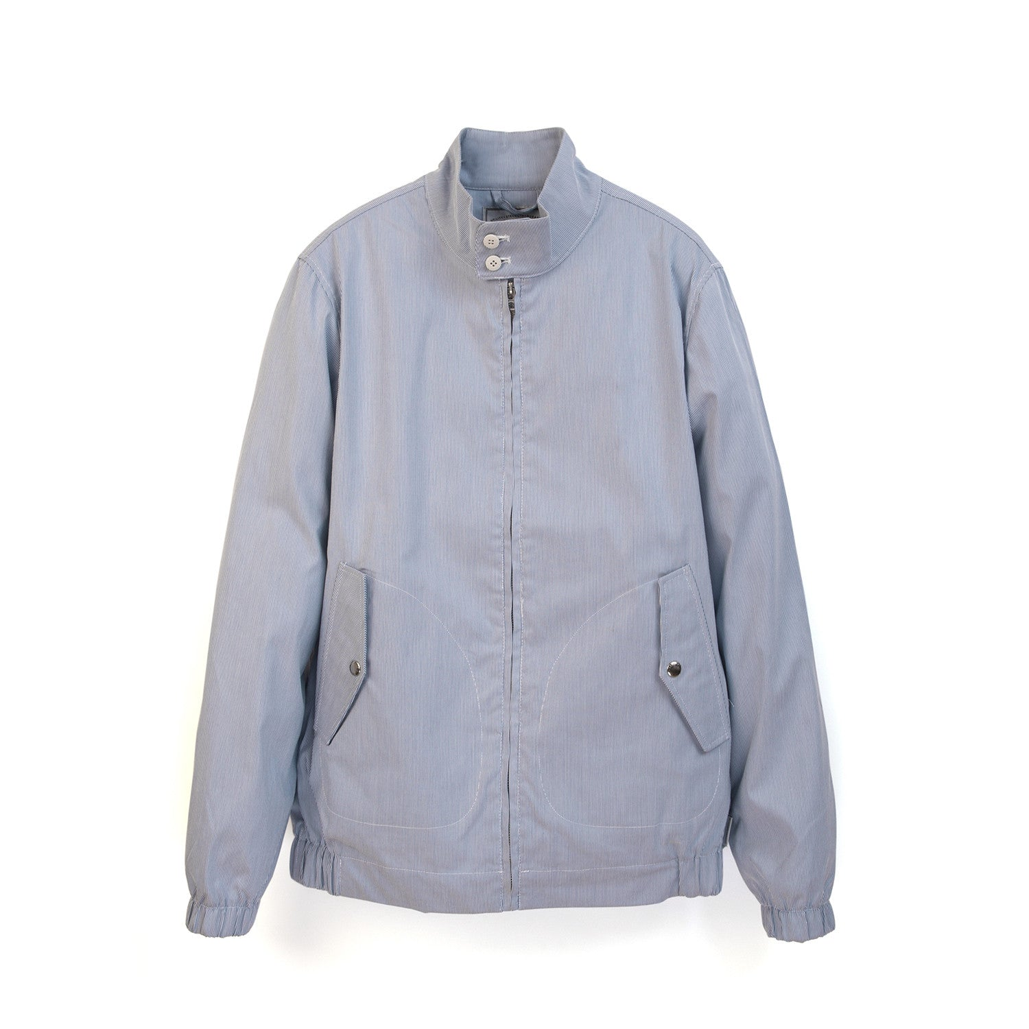 Penfield Mens Seaford Seersucker Jacket White/Blue