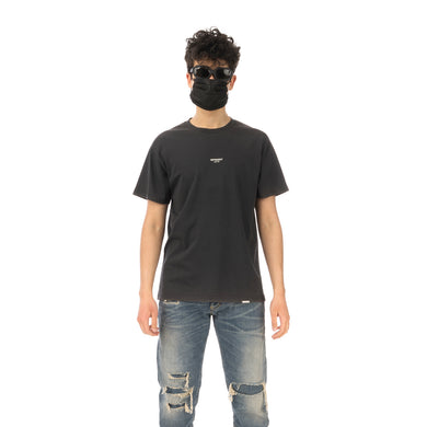 REPRESENT | Regular Fit Logo T-Shirt Vintage Black - Concrete