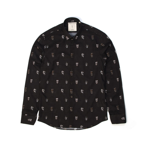 SaintPaul Masks L/S Shirt Black