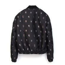 Load image into Gallery viewer, SaintPaul Bombers Mask Jacket Black