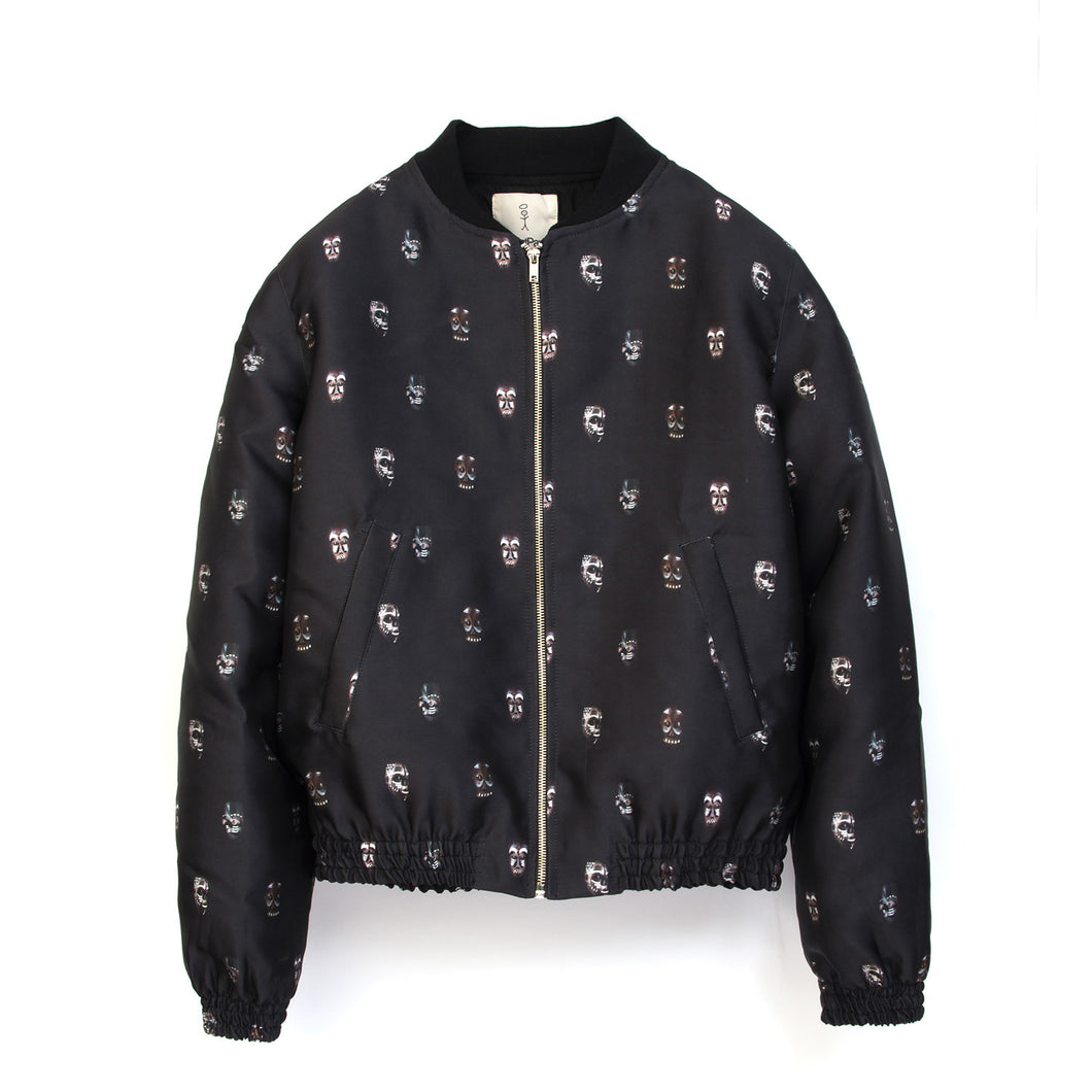 SaintPaul Bombers Mask Jacket Black