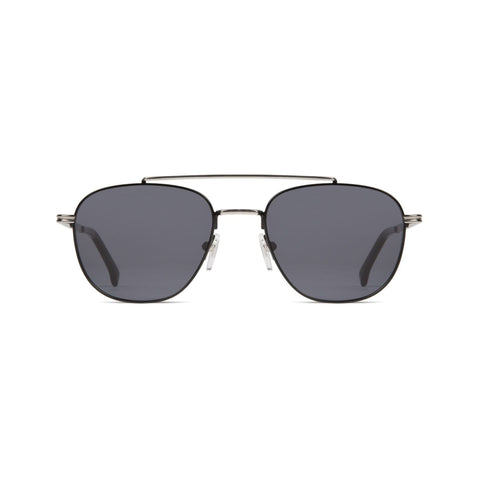 KOMONO Alex Sunglasses Silver/Black