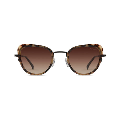 KOMONO Billie Sunglasses Tortoise Black