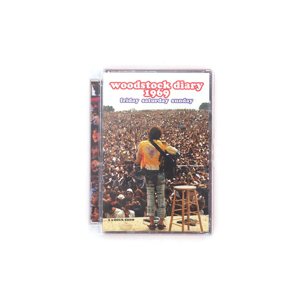 Various Artists Woodstock Diary 1969 - Dvd - Concrete