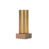 ystudio Pen Container Brass & Walnut - Concrete