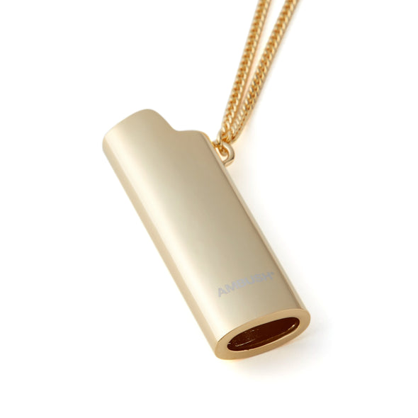 AMBUSH | Lighter Case Necklace Alloy Gold - Concrete