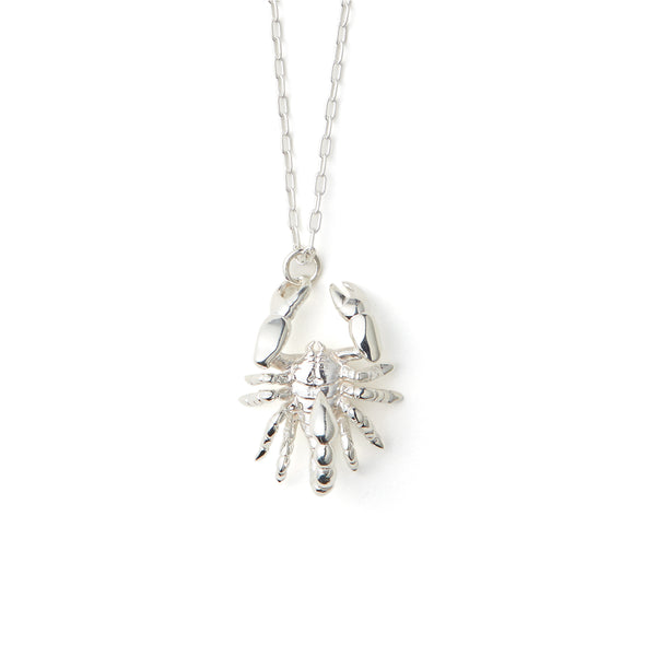 AMBUSH® | Scorpion Charm Necklace Silver