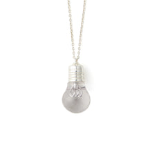 將圖像加載到畫廊查看器中AMBUSH | Light Bulb Charm Necklace Silver - Concrete