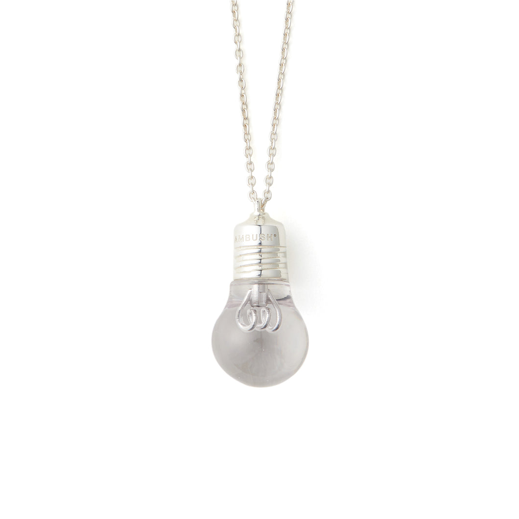 AMBUSH | Light Bulb Charm Necklace Silver - Concrete