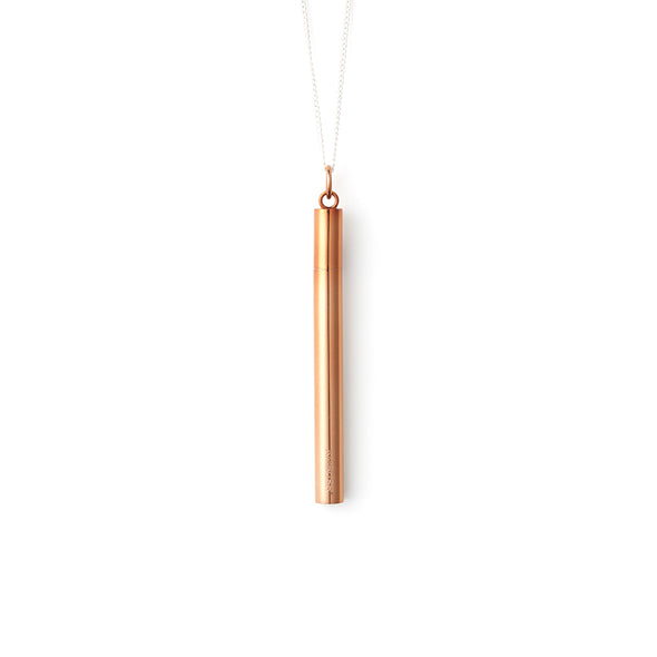 AMBUSH | SSS Cig Case Necklace Brown - Concrete