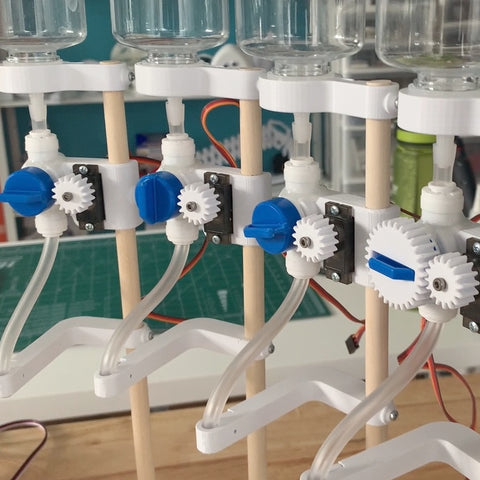 First Iteration automated valves