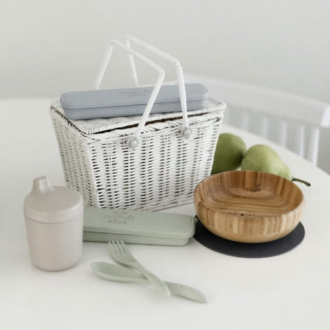 Eco-friendly picnic ware made from bamboo