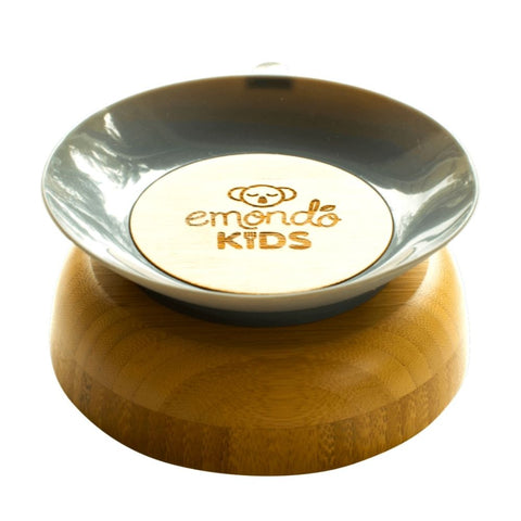 Kids eco-friendly dinnerware with suction