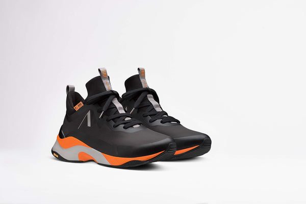 Stormrydr Nylon hl Vulkn Vibram, Black Orange Glory