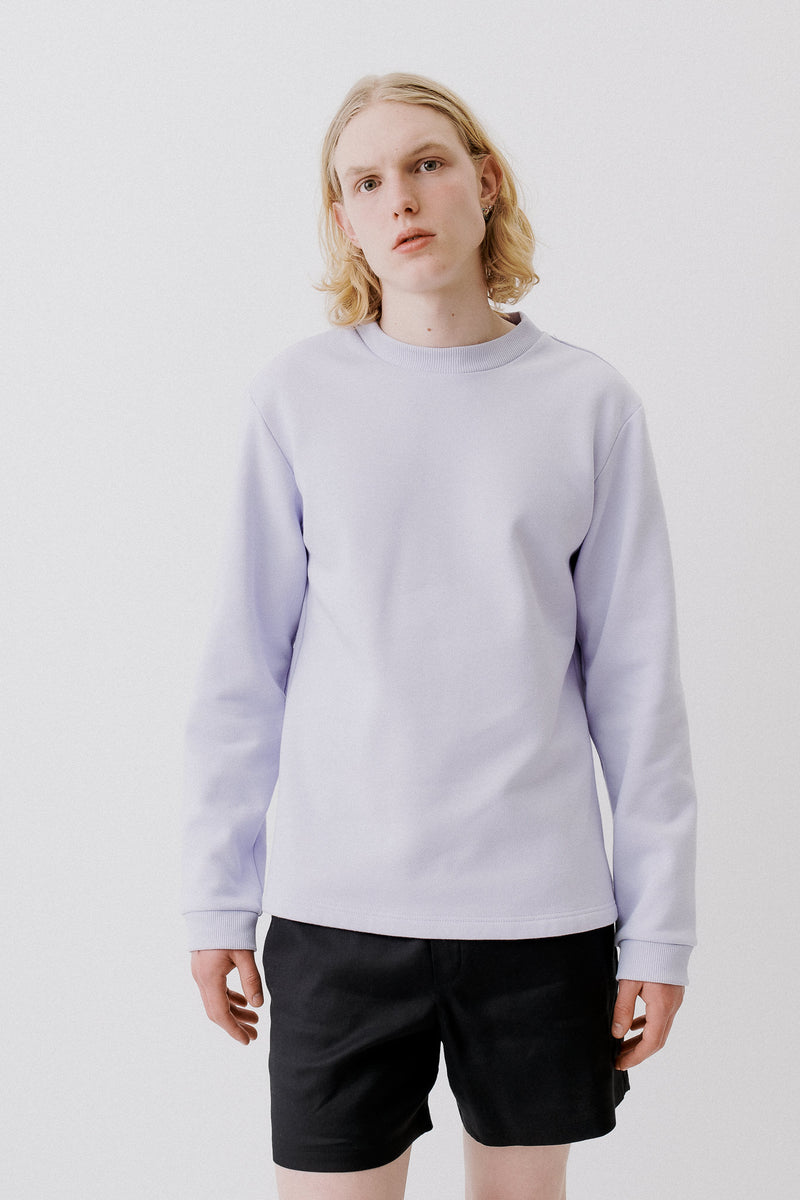 Pullover Organic Cotton, Light Purple
