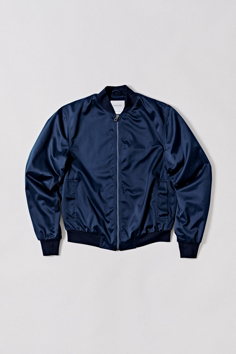Bomber Techno-Twill with High-Teflon-Finish, Blue