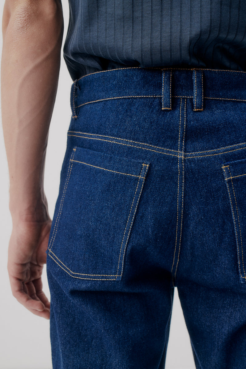 Jeans Bootcut, Mid-Blue