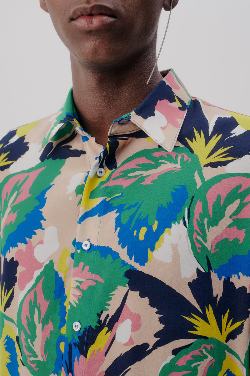 Shirt Floral Pure Silk